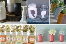 Mason Jar Inspiration / by Amber Wish Ahlering
