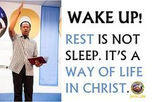 Quotes / Posters containing the Word of God and His principles for living an abundant life.
