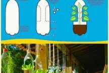 Zelfmaakideeën tuin