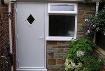 Composite Back Doors / Photos of composite back doors supplied.