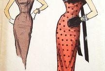 Sketch of dress