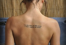 Tattoos***