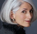 great grey hair