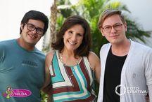 Jantar do dia 7 de novembro em Indaiatuba,  com os chefs do Reality show da Band.  Carla Lucas e Murilo.