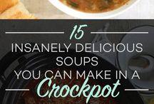 Soups, Zuppe e brodi
