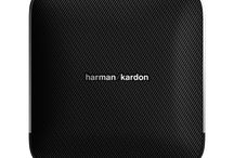 Harman Kardon Esquire / Prepare to travel in a completely different way. The Harman Kardon Esquire is your new, on-the-road, wireless audio system. Esquire is a Bluetooth®-enabled speaker with a built- in conference phone system that redefines how you take your music with you.