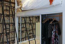 Storage beds / platform beds / elevated beds
