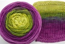 Yarn deliciousness / Scrumptiously beautiful yarns I wish I owned. Because pretty things don't count as stash.