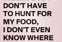 Foodie funnies