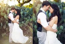 Wedding Poses - Facing Each Other