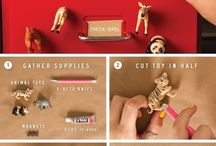 For the kids... / Cute, fun and creative craft / DIY and food ideas to make the kids happy... Or ourselves, perhaps?