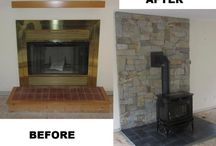 Fireplace Installations / These are pics of fireplaces we have installed or renovated.