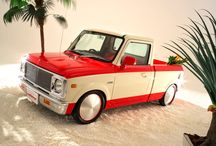«High Rider Pickup»  Chevy  C10 replica