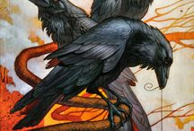 Ravens~Crows / by Yvonne Fitzell