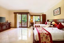DELUXE ROOM / Our spacious deluxe room, 55 square meters, the largest standart room on the island, invite you to rest comfortably. Free WiFi for your whole stay, double bathtub, hight end amenities, and spectacular terrace with stunning views of the garden or the pool and swimming pool access