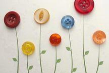 artesanato  em botões