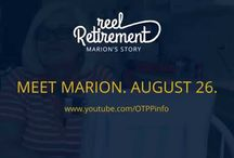Reel Retirement / Meet Marion! She's planning on retiring in 2016 and is keeping a video journal of her sprint to the finish line. Reel Retirement, our new series, takes you to her kitchen table so you can laugh and maybe cry along with Marion as she shares this exciting (and sometimes terrifying) phase of her life with you.