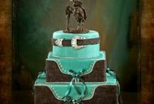 Western Wedding June 2014 / Flowers and CAke / by Deneen Jolly