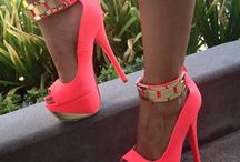 Dream Shoes- Stack Heels