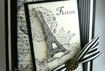 French themed cards