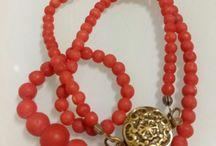 Magnifique Mediterranean coral necklace for sale