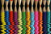 színes