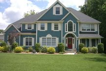 exterior paint colors / by Michele Hardesty