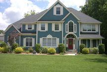 Want a blue house