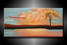 Quadri Moderni Dipinti a Mano (dipintimoderni) su Pinterest