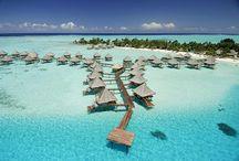 InterContinental Bora Bora Le Moana Resort / Beautiful photos of the InterContinental Bora Bora Le Moana Resort.