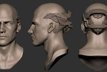 Digital Males / A collection of Digital Male characters