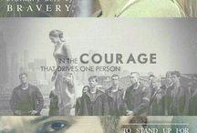 I am selfish. I am brave.