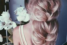 Pure and Fresh Hairstyle / When flower meet the hair, whenthe decoration meet the hair, when the everything meet the hair.