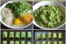 baked broccoli nuggets