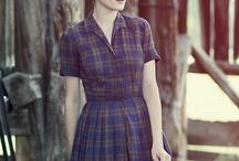Plaid dress remake