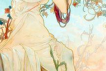 Mucha love / The art of Alphonse Marie Mucha