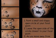 FP - TUTORIALS / Face painting & drawing