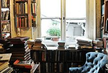Home Library / Lovely & inspirational rooms full of the best things in the world- Books!
