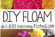 Sensory & Hands On Ideas / Find sensory bins and hands on ideas for toddlers, preschool, and kindergartners here.