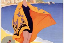 art deco cars and illustrations