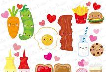 Animaciones de Alimentos