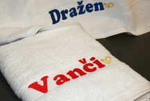 MBroide Today / #Personalized Embroidered Items, like Towels, Aprons, Oven mitts, etc...