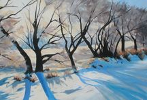 Connie Schuler Paintings / Connie Schuler is a landscape painter in Canada.