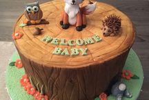 gâteau hibou et chouette