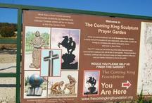 """The Coming King"" Sculpture Prayer Garden"