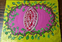 Maitri Libellule's OUTSIDER ART Auctions from Dragonfly Cottage Studio... / by Maitri Libellule