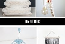 Francois et Moi: DIY du Jour / DIY du Jour is Francois et Moi's weekly round-up of trending handmade and DIY project themes specifically for the home.