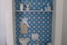 Quadro lavabo e banheiro