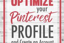 Social Media - Pinterest* / Hints, Tips & Ideas for using Pinterest.