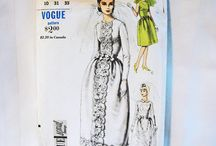 vintage wedding sewing patterns